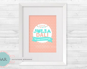 PRINTABLE Nursery Wall Art/ Wall Decor/Girl Bedroom Pictures/Nursery Decor/Nursery Print/Printable Kids Art/ Digital Nursery Art