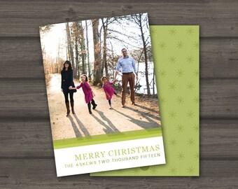 Christmas Photo Card   Merry Christmas
