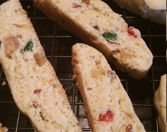 Homemade Candied Fruit Biscotti - 36 Biscotti