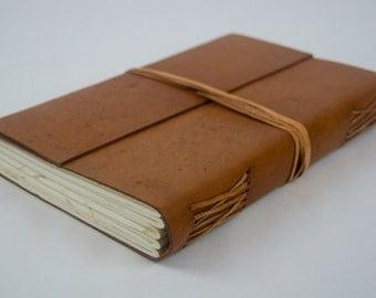New Handmade Raw Leather Journal, Notebook Travel Journal Valntine Gift