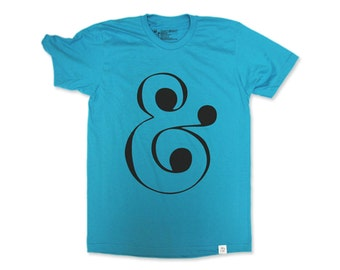 Ampersand Tee (Teal)