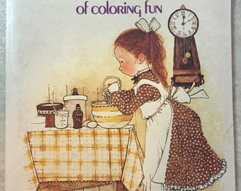 Vintage Holly Hobbie Coloring Book. Never Used