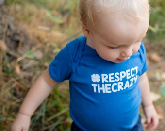 Toddler Clothes, T-Shirt, One Piece, OHHH the Onsie Toddler #RESPECTTHECRAZY. Children Apparel.