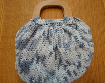 Crochet Fat Bottom Purse