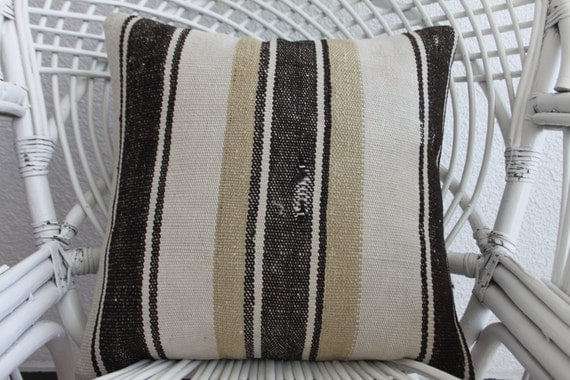 Hippie Floor Pillows : sets floor pillow 18x18 kilim hippie style pillows striped
