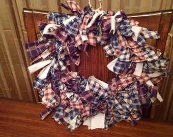Americana Primitive Wreath