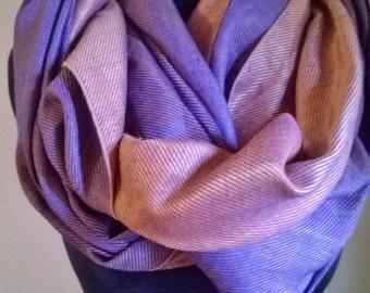 Infinity loop scarf