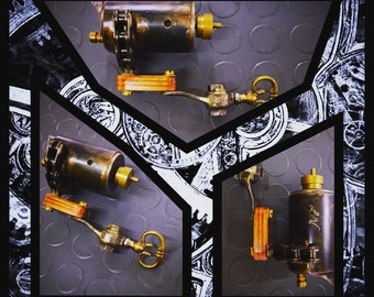 Handmade rotative tattoo machine