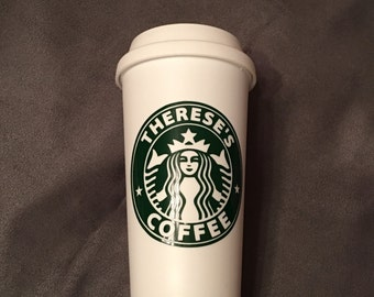 Travel Coffee Cup - Starbucks style