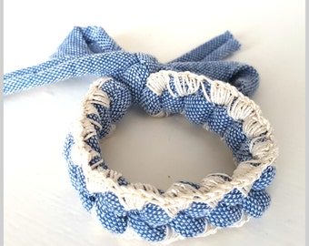 Crochet Friendship Bracelet | Jeans