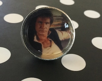 Han Solo Harrison Ford Adjustable Ring