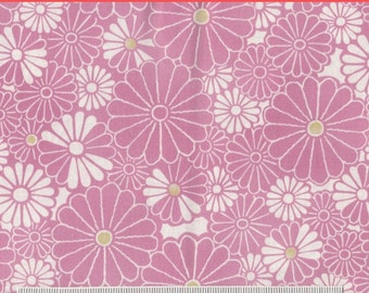 SALE! Dandelion Daydreams - 1 yd - Maywood Studio - Pink