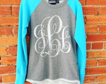 Raglan Sweater with Initials