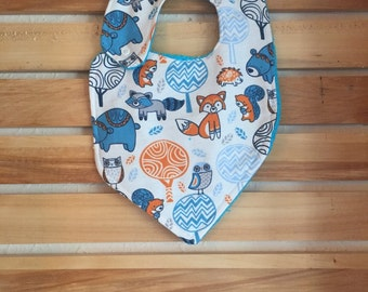 Forrest Friends Baby Bib