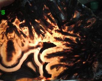 Turkish agate slab A75 9.2 oz 260 grams Grade A  lapidary display