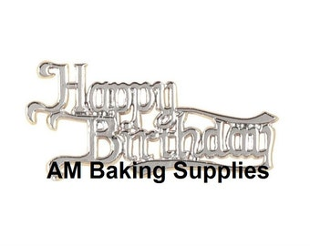 Happy Birthday Cake Topper/Decoration/Motto