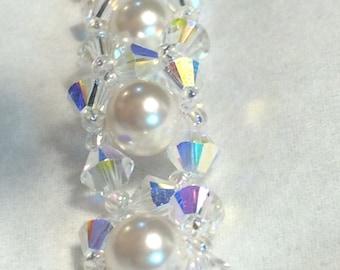 Swarovski shimmer bracelet