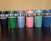 Send Me Your Yeti to be Powder Coated