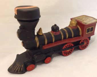 Vintage ~ Locomotive Train Decanter ~ McCormick Whiskey