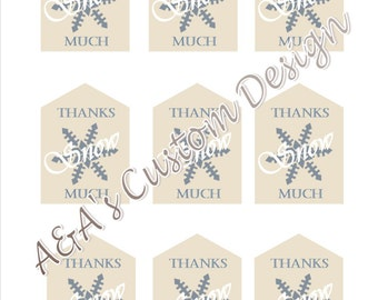 Favor/Thank You Tags