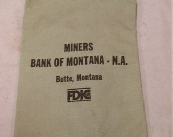 Bank bag Butte, Montana