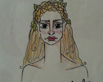 Ancient Grecian Goddess