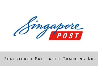 Registered Postage - With Tracking No - Singapore Post