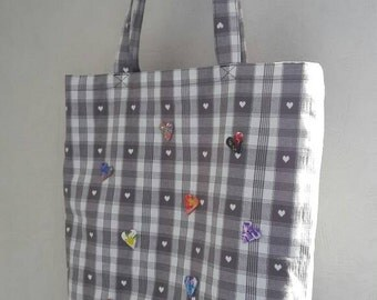 bag soft Tote with inside pocket