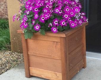 Wooden Flower Planter Box