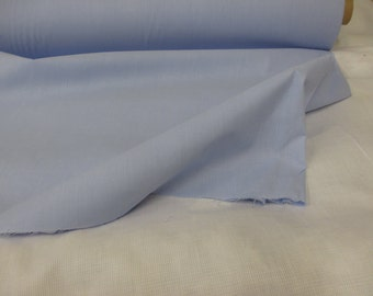 "Baby Blue 96"" Wide Polycotton Lining Fabric. Price Per Metre."