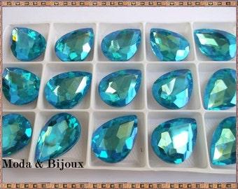 Aqua Crystal drops 25x18