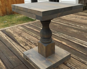 Antique Side Table/Sofa Table/Nightstand/Industrial Side Table/Monastery Table/Rustic Table