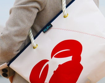 New Sailcloth Small Shopper (Crab)