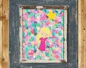 Printable Art Starry Dreams Girl's Room Decor