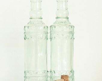 Vintage decorative bottles