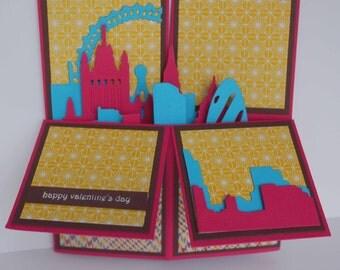 London City Valentine/Anniversary Card