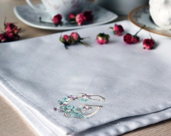 Personalized Wedding napkins Monogram Napkins Linen Natural Napkins Monogrammed Housewarming Specia Table Home decor Washed Linen Custom