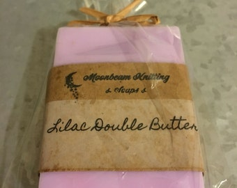 Double Butter Lilac Soap