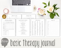Basic Therapy Journal: Instant Printable Download