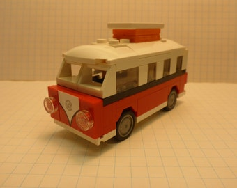 Custom VW Bus/Vanagon Lego models