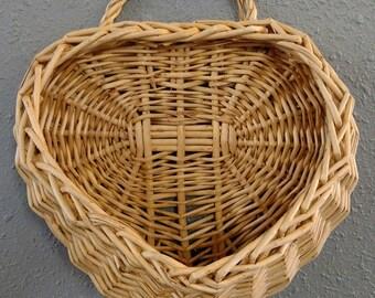 Heart-Shaped Hanging Basket