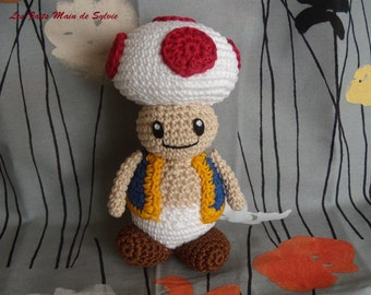 Toad to crochet