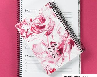 2016 Mini Diary // A6