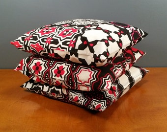 "Set of three pillow covers - ""Ginevra"" - Marimekko - size 16x16"" / 40x40cm (P3)"