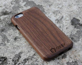 OXSY Walnut Genuine Wood Case - Apple iPhone 6 / 6S