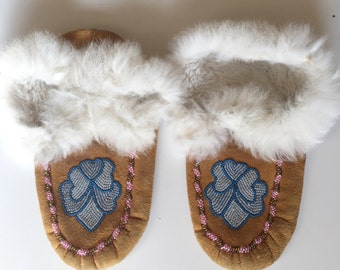 Beaded Native American Moccasins