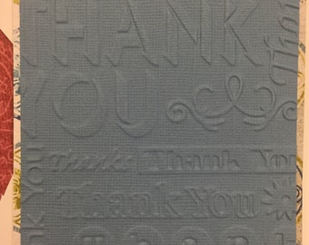 Embossed Thank You Card Set