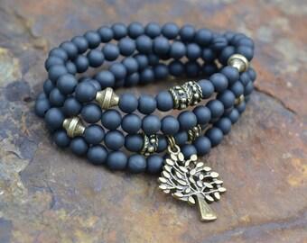 Necklace/Bracelet MALA FAMILY TREE