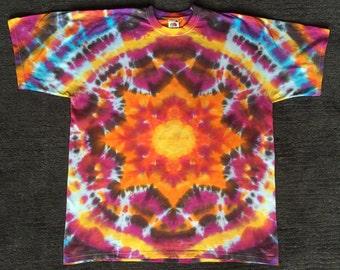 New Tie Dye Fruit Of The Loom XL Adults T Shirt Grateful Dead Phish