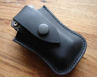 Leather Multi tool Gerber Suspension Crucial sheath with belt loop